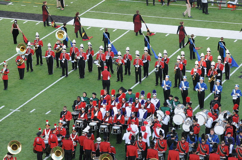 UC Band_UC vs Northwestern_Nippert Stadium_Cincinnati, OH