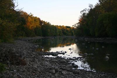 Scioto River (Dan's Special Spot) 20081009
