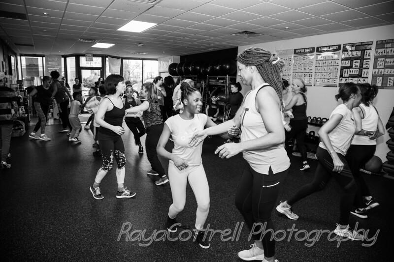 Girls Inc. Dance class