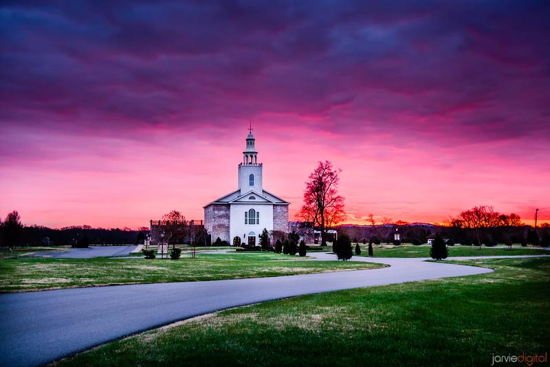 Nashville Church Sunrise