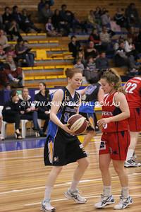 SEABL Round 8 Lady Braves (77) V Geelong (54)