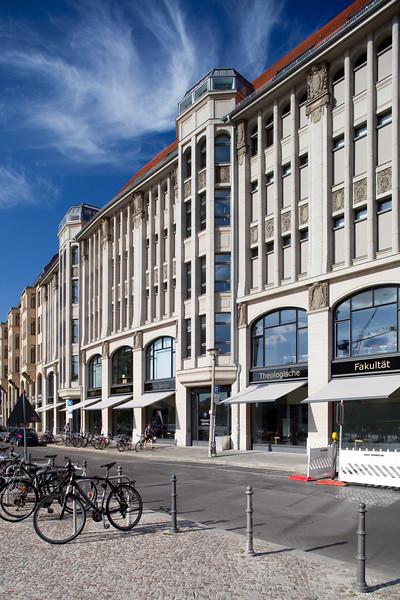 THEOLOGISCHE FAKULTÄT building on Burgstrasse, Berlin, Germany