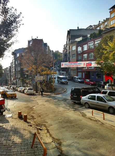 Istanbul street corner