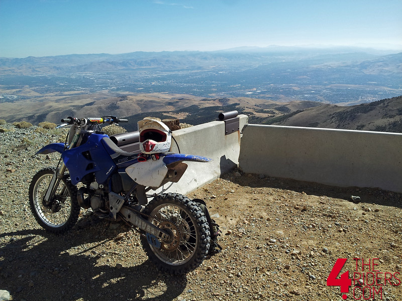 yz250 sierra nevada mountains reno