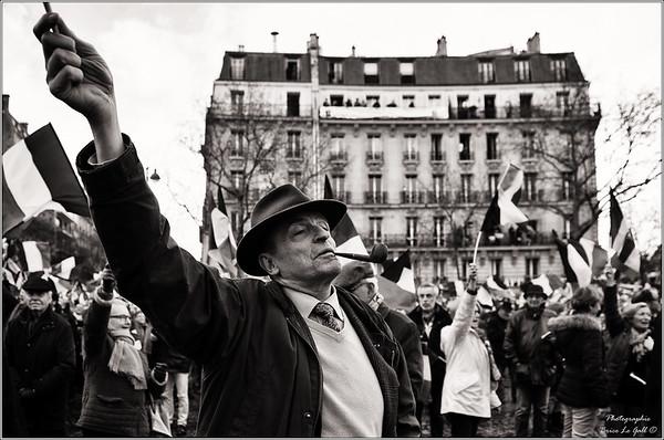 """Le """"peuple"""" de droite dans la rue"""