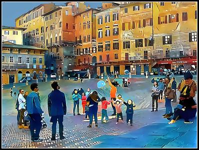 Tuscany Fantasy - Siena