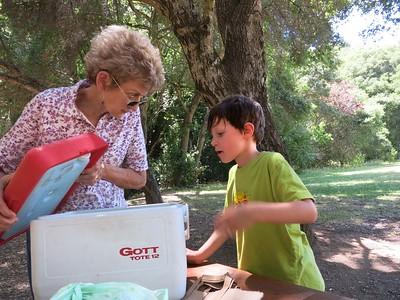 2015-6-28 picnic, Foothills Park, Palo Alto