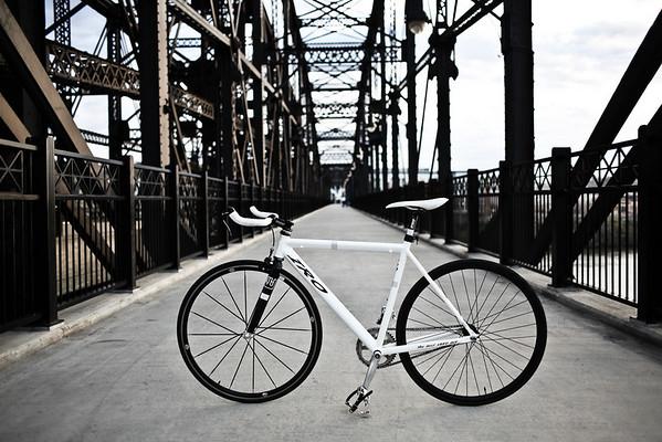 Hot Metal Pedestrian and Bicycle Bridge Pittsburgh, PA