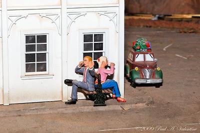 Clark Gardens Trains 11-03-09