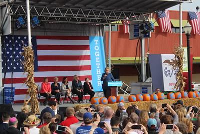 Hillary Clinton rally at NewBo Oct. 28
