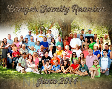 Conger Family Reunion