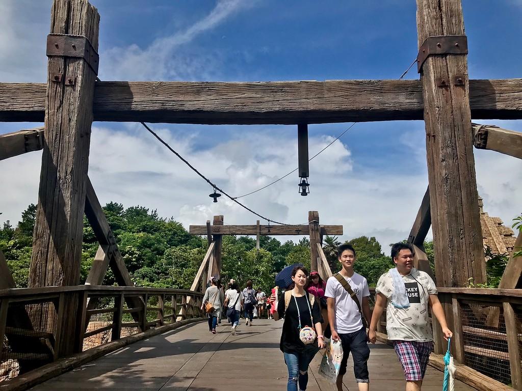 The bridge to the Lost River Delta Zone.