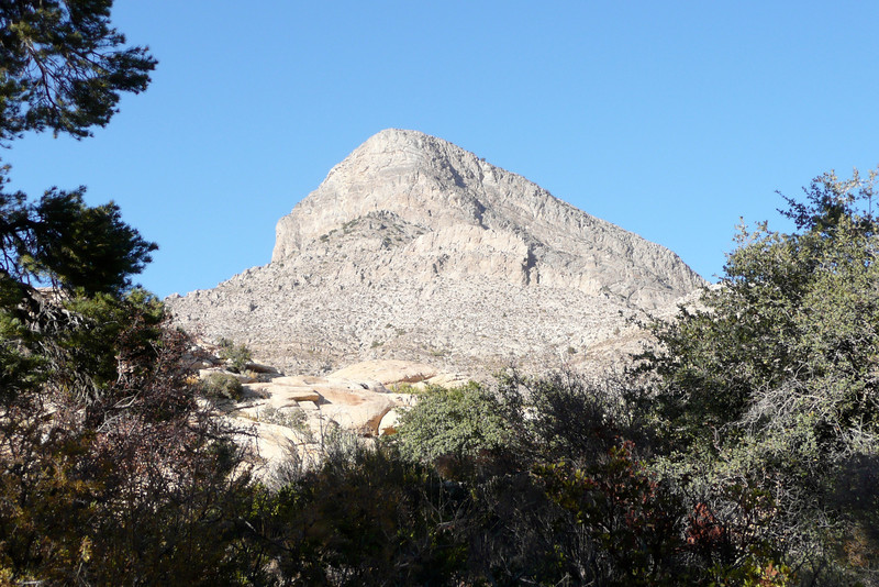 Calico Tanks Trail. Red Rock Canyon