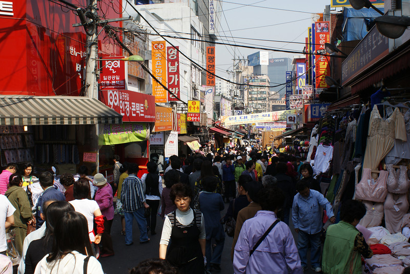 A market.