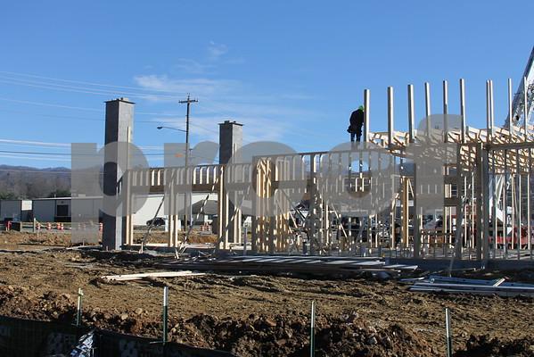 Bojangles Construction Begins - December 2014