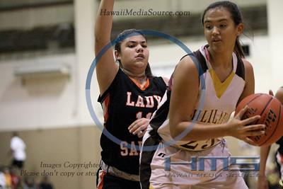 Mililani Girls Basketball - Cam 1-13-14