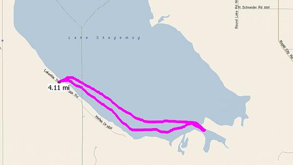 2014-08-01 Lake Skegemog Paddle