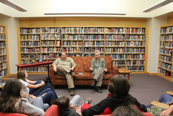 Authors Pamela and John Voelkel Visits WUMS