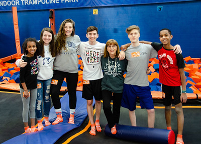 70th Birthday at Sky Zone 3/9/19