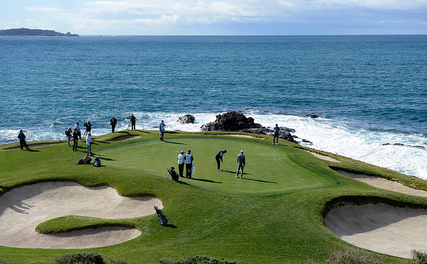 3rd Round of the AT&T Pebble Beach Pro-Am