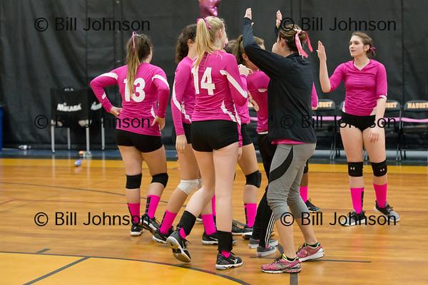 Nauset JV Volleyball v SJPII 10_26_17