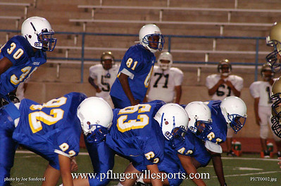 Panther Freshmen vs. Akins Eagles, October 23, 2008