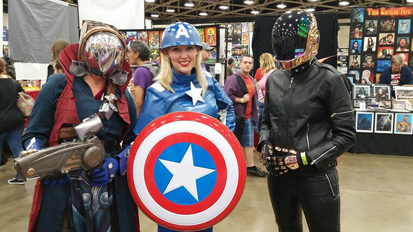 Dallas Comicon May 2015