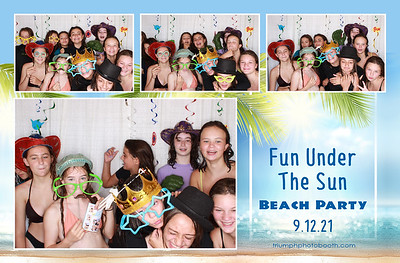 9/12/21 - Fun Under The Sun Beach Party
