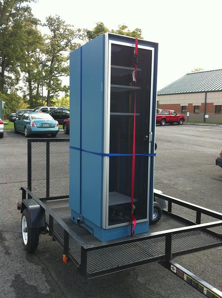 2010-10-09 - Server Cabinet