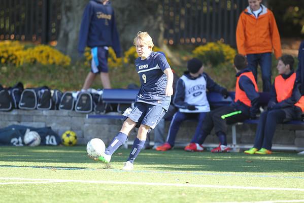 Varsity Boys Soccer October 2013