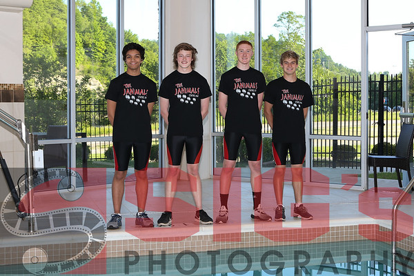 BHS Swim Team - 200 Free Relay State Champs