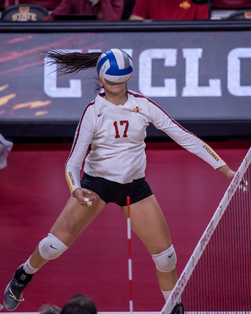 ISU Volleyball vs KState 10/26/18