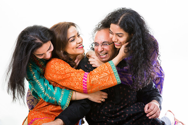 Hussain Family Portrait Shoot