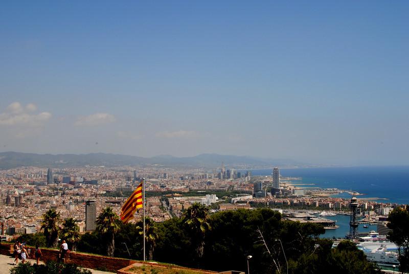 Barcelona seen from Montjuïc