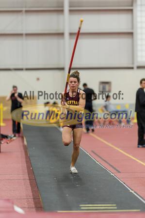 Pole Vault - 2013 CMU Open Indoor Track Meet
