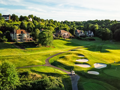 Treesdale Country Club aerials