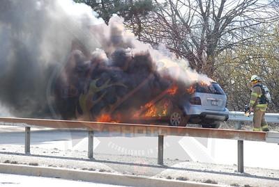 Seaford F.D. Car Fire on Rt.135 3/20/08