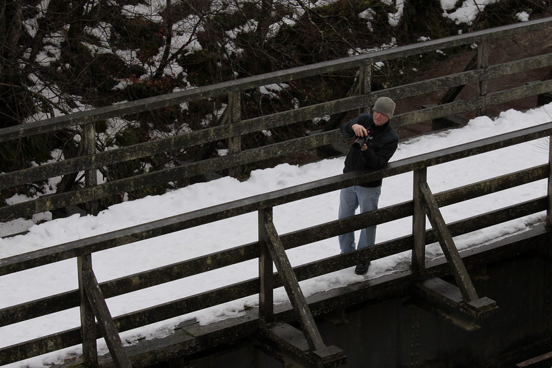 © Marta Popovics 16-1-2010 Fotografando o River Esk