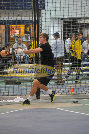 Men's Weight Throw - 2013 Silverston Invitational