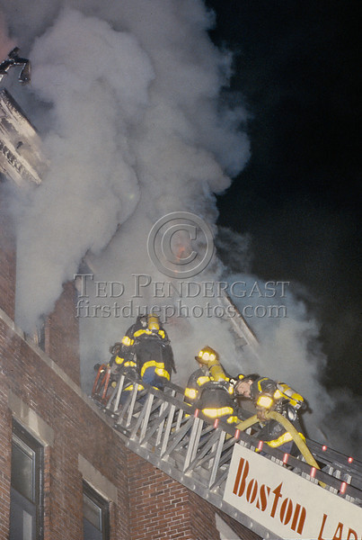 May 11, 1987 - Boston, MA - 2 Alarms Box 514 on Linden Str