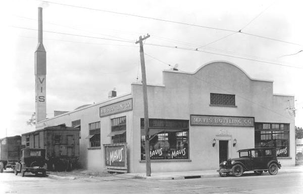 The Mavis Bottling Company, shortly after opening. Courtesy of the State Archives of Florida, Florida Memory, http://floridamemory.com/items/show/51348