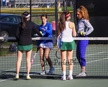 2019-5-6 WHS Girls Tennis vs Bishop Guertin