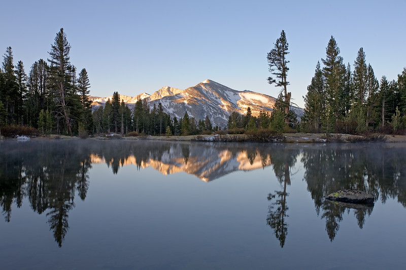 Mammoth Peak at Sunrise