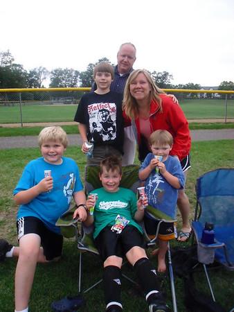 <b>July '09: Aidan's Soccer Game</b>
