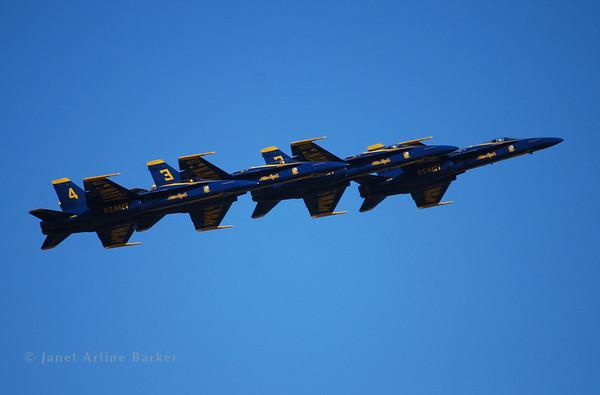San Francisco-Blue Angels-Air Show