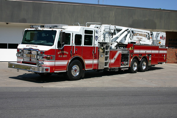 Company 1 - City of Martinsburg Fire Department (Main station)