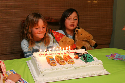 Sydney's 9th Birthday (06 Jan 2007)
