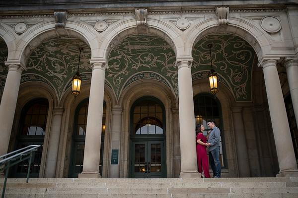 Sara + Josh | Madison Engagement Session