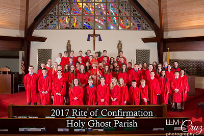 Holy Ghost Confirmation 2017
