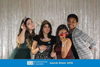 International Center for Journalists Awards Dinner 2018